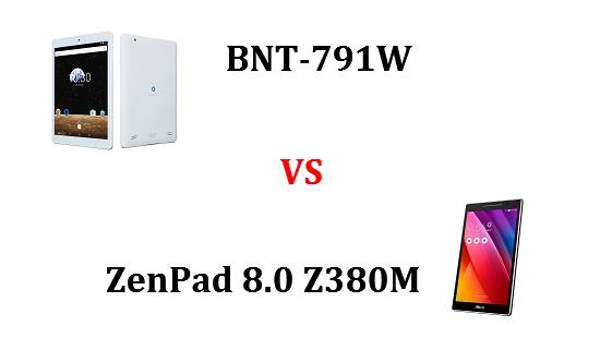 BNT-791WとZenPad 8.0 Z380Mはどちらが良いのか違いを比較!