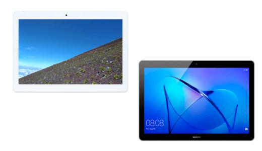 「BNT-1012W」と「MediaPad T3 10」の違いを比較!
