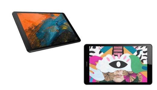 「Lenovo Tab M8」と「MediaPad M5 Lite 8」の違いを比較!