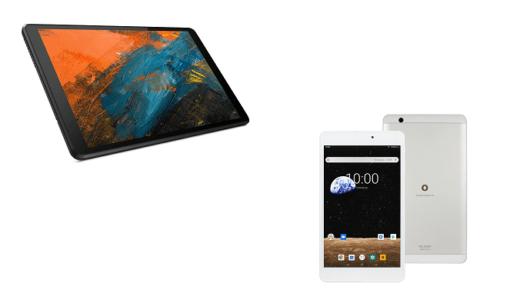 「Lenovo Tab M8」と「BNT-802W」のスペックの違いを比較!