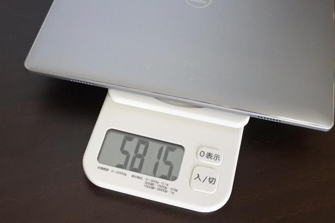 VANKYO S30の重量